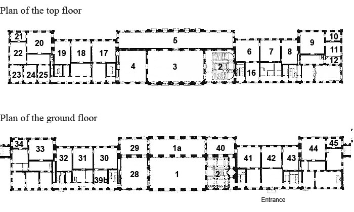 Picture: Plans of Schleißheim New Palace